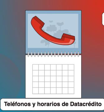 datacredito telefono y horarios