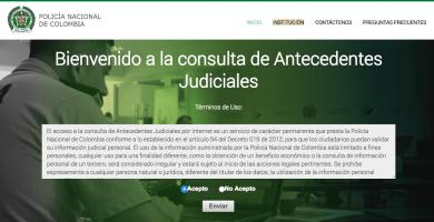 antedecentes judiciales - antecedentes policia